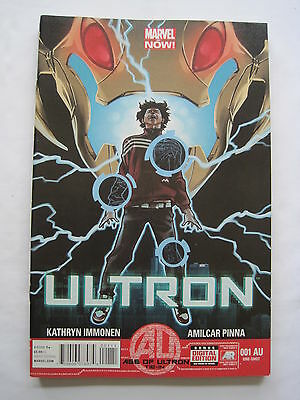 ULTRON 1 AU. AGE OF ULTRON  by IMMONEN & PINNA. AVENGERS. MARVEL. 2013