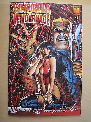 "VAMPIRELLA vs HEMORRHAGE : ""The RED DEATH""  # 1. HARRIS. 1997"