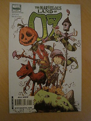 WIZARD of OZ. The MARVELOUS LAND of OZ  1 ( of 8 ). ERIC SHANOWER. MARVEL.2010