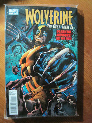WOLVERINE : THE BEST THERE IS # 1. PARENTAL ADVISORY - NOT FOR KIDS.Marvel. 2011
