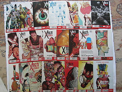 X-MEN LEGACY #s 1,2,3,4,5,6,7,8,9,10,11 - 23 by SPURRIER & ENG HUAT. MARVEL NOW