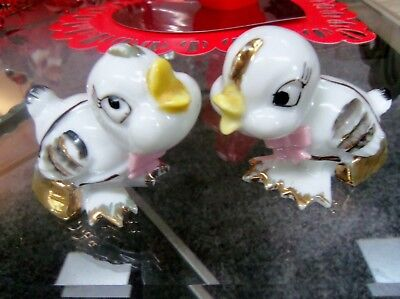 Vintage Thames Pair Of Lady Birds Gold Purses-Really Cute Evc