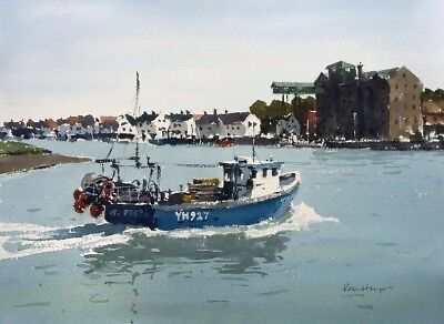 №125 'Back in to Wells' - ..next the Sea, Norfolk - Ken Hayes
