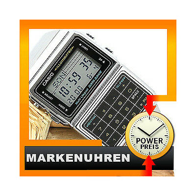 Casio Uhr Collection Retro Digital Edelstahl DBC-611E-1EF