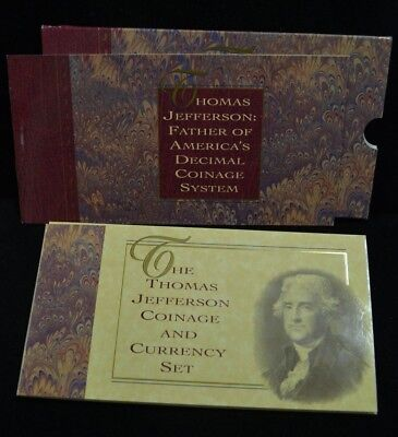 Thomas Jefferson Coinage and Currency Set