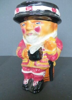 Vintage Hand Painted Beefeater Toby Jug - Shorter & Son Ltd.  12 cm tall