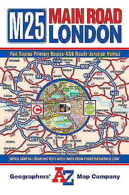 Main Road Map of London, Geographers A-Z Map Company