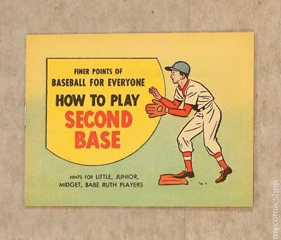 Finer Points of Baseball For Everyone: How to Play Second Base 1962 NM 9.4