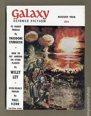 Galaxy Science Fiction (pulp/digest) #Vol. 16 #4 1958 FN 6.0