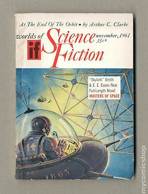 If Worlds of Science Fiction (Pulp Digest) #Vol. 11 #5 1961 FN 6.0