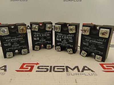 Crydom D1240 Solid State Relay (Lot of 4)