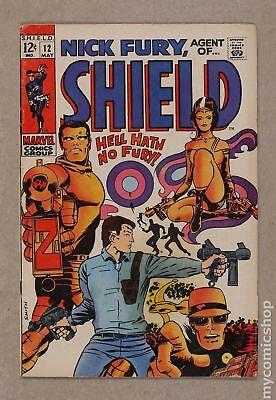 Nick Fury Agent of SHIELD (1st Series) #12 1969 FN 6.0