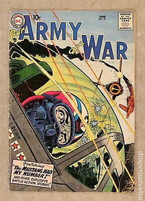 Our Army at War #59 1957 VG- 3.5