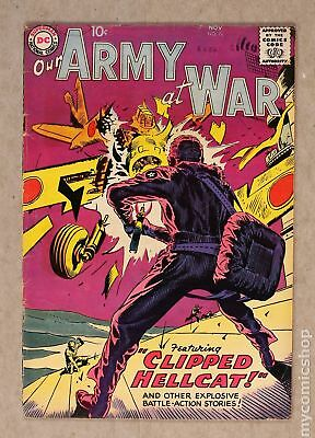 Our Army at War #76 1958 GD/VG 3.0