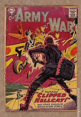 Our Army at War #76 1958 GD 2.0