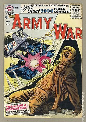 Our Army at War #52 1956 GD/VG 3.0