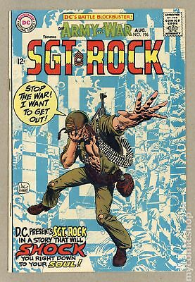 Our Army at War #196 1968 VG/FN 5.0