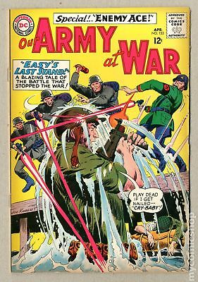 Our Army at War #153 1965 GD/VG 3.0