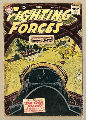 Our Fighting Forces #23 1957 FR/GD 1.5