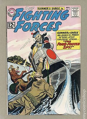 Our Fighting Forces #72 1962 VG+ 4.5