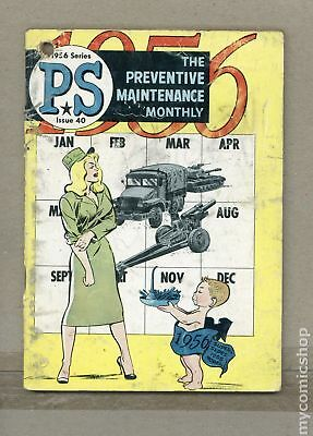 PS The Preventive Maintenance Monthly #40 1956 GD 2.0