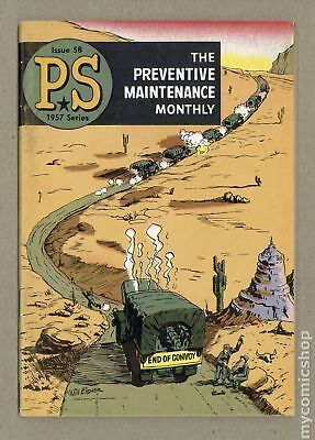 PS The Preventive Maintenance Monthly #58 1958 VG 4.0