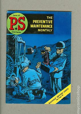 PS The Preventive Maintenance Monthly #65 1958 FN 6.0