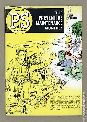 PS The Preventive Maintenance Monthly #69 1958 FN- 5.5