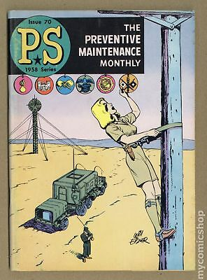 PS The Preventive Maintenance Monthly #70 1959 GD/VG 3.0