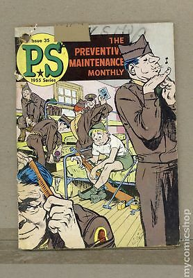 PS The Preventive Maintenance Monthly #35 1956 GD+ 2.5