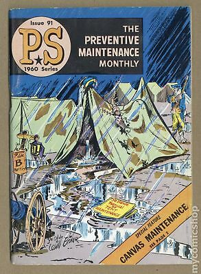 PS The Preventive Maintenance Monthly #91 1960 VG- 3.5