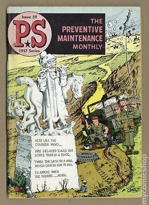 PS The Preventive Maintenance Monthly #59 1958 VG- 3.5