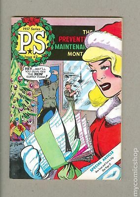 PS The Preventive Maintenance Monthly #62 1958 FN 6.0