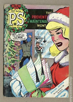 PS The Preventive Maintenance Monthly #62 1958 GD 2.0