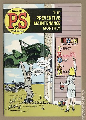 PS The Preventive Maintenance Monthly #111 1962 FN 6.0