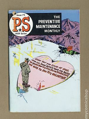 PS The Preventive Maintenance Monthly #75 1959 VG+ 4.5