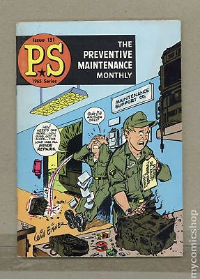 PS The Preventive Maintenance Monthly #151 1965 VG/FN 5.0