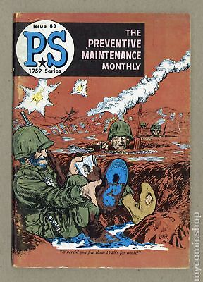 PS The Preventive Maintenance Monthly #83 1960 VG+ 4.5