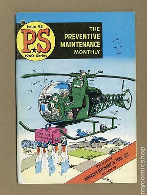 PS The Preventive Maintenance Monthly #92 1960 VG+ 4.5