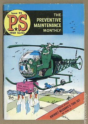 PS The Preventive Maintenance Monthly #92 1960 VG- 3.5