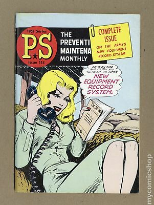 PS The Preventive Maintenance Monthly #115 1962 FN+ 6.5