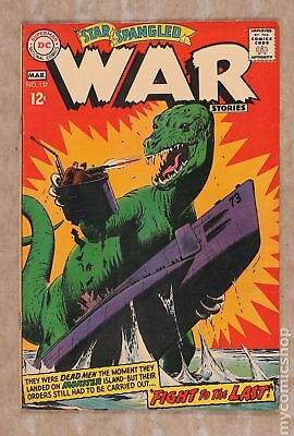 Star Spangled War Stories (DC) #3 to 204 #137 1968 FN 6.0