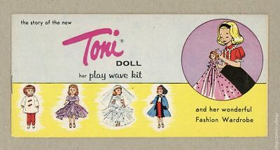 Story of the New Toni Doll, The 1958 VF 8.0