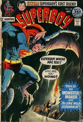Superboy (1st Series DC) #178 1971 FN Stock Image