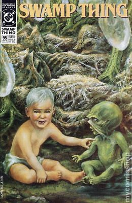 Swamp Thing (2nd Series) #95 1990 VF Stock Image