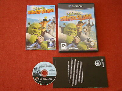 Shrek Super Slam / Pal - Espagne / Gamecube Gc **Powerseller**