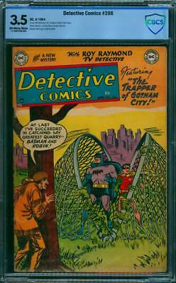 Detective Comics # 206  Trapper of Gotham !  CBCS 3.5 scarce Golden Age book !