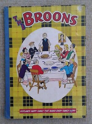 "Vintage ""the Broons"" Annual 1960 - D. C. Thompson."