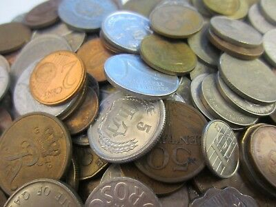 Foreign Coins Nice Lot Of Over 250 World Coins From Many Different Countries
