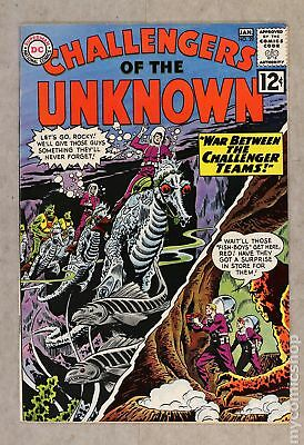 Challengers of the Unknown (DC 1st Series) #29 1963 FN- 5.5